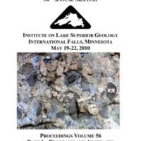 Institute on Lake Superior Geology: Proceedings, 2010