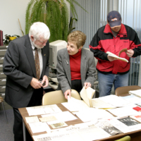 Penny Petrone's gifted collection of papers to the Chancellor Paterson Library