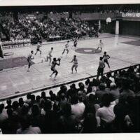 Lakehead University men's basketball team versus Yugoslavia, 1970