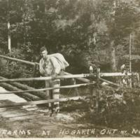 Road to Farms at Hogarth, Ontario