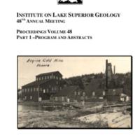 Institute on Lake Superior Geology: Proceedings, 2002