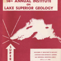 Institute on Lake Superior Geology: Proceedings, 1968