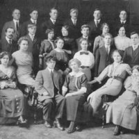 Group photograph of possibly an Executive Committee of the Finlandia Club