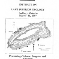 Institute on Lake Superior Geology: Proceedings, 1997