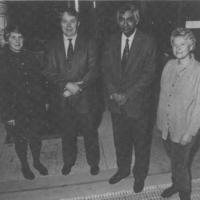 First Patent: Dr. C. Nelson, Dr. C. Johnston, Dr. A. Mirza, Edith Ramanathan