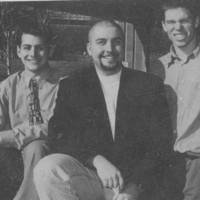 LUSU executive: Eric McGoey, Mike Blower, Mike Lyons