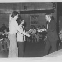 Awards – Professor Bill Hanley [right]