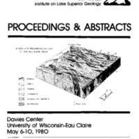 Institute on Lake Superior Geology: Proceedings, 1980