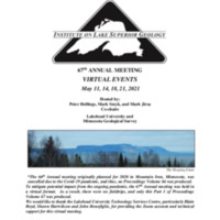 Institute on Lake Superior Geology: Proceedings 2021