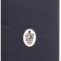 1972 Spring Convocation Program