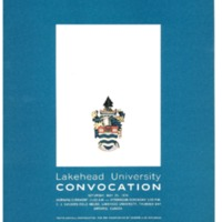 1974 Spring Convocation Program