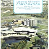 1975 Spring Convocation Program