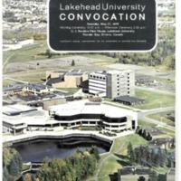1978 Spring Convocation Program
