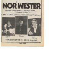Nor'Wester Magazine Fall 1986 Vol. No.3
