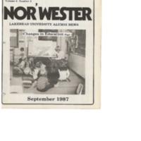 Nor'Wester Magazine September 1987 Vol.4 No.3