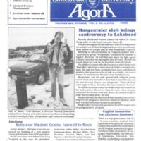 Agora Magazine April 1989