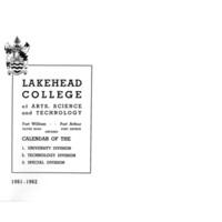 Lakehead College Calendar 1961-1962.pdf