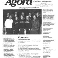 Agora Magazine Vol.20 No.1