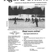 Agora Magazine Vol.21 No.1