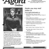 Agora Magazine Vol.22 No.1