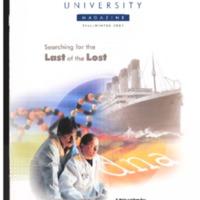 Lakehead University Alumni Magazine Fall 2001 Vol.18 No.2