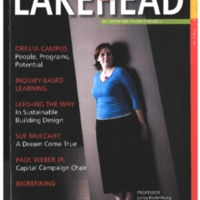Lakehead University Alumni Magazine Fall 2008 Vol.25 No.2