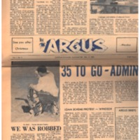 Argus Vol.1 No. 5 - Dec, 9, 1966