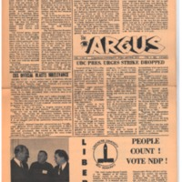 Argus Vol.1 No.9 - Feb 03, 1967