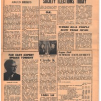 Argus Vol.1 No.15 - Mar 10, 1967