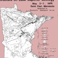 Institute on Lake Superior Geology: Proceedings, 1976