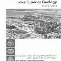 Institute on Lake Superior Geology: Proceedings, 1966