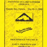 Institute on Lake Superior Geology: Proceedings, 2000