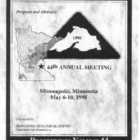 Institute on Lake Superior Geology: Proceedings, 1998