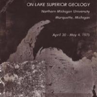 Institute on Lake Superior Geology: Proceedings, 1975