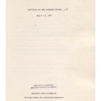 Institute on Lake Superior Geology: Proceedings, 1957