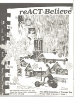 reACT-Believe Vol 5 Issue 1 - Winter 1992