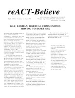 reACT-Believe Vol 6 Issue 4 - Fall 1993