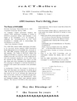 reACT-Believe Vol 11 Issue 3 - Winter 1998