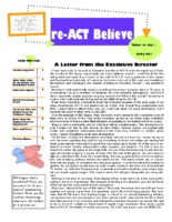 reACT-Believe Vol 14 Issue 1 - Spring 2001