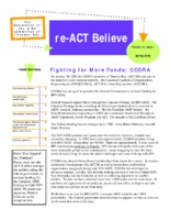 reACT-Believe Vol 15 Issue 1 - Spring 2002